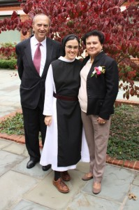 Sr Maria with her Parents
